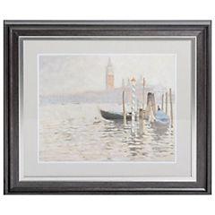Cuadro enmarcado 70,5x62,5 cm Venecia 2
