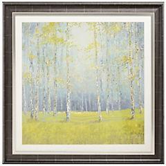 Cuadro Bosque primaveral 1 82x82 cm