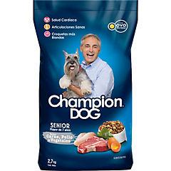Alimento seco para perro senior 2,7 kg carne, pollo y vegetales