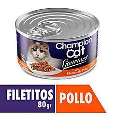 Alimento húmedo para gato adulto 80 g pollo