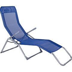 Reposera plegable Relax azul