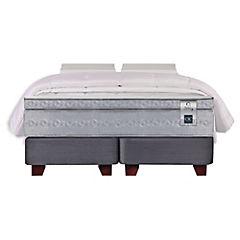Box spring Zen 3 2 plazas base dividida fn almohada   viscoelástica + plumón