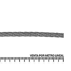 Cable de acero galvanizado 3/32''