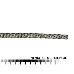 Cable de acero inoxidable 1/8''