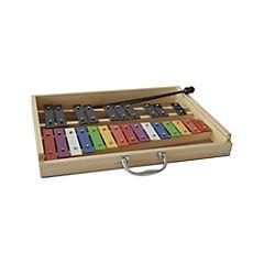 Metalofóno 25 notas colores