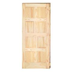 Puerta 8 paneles 80x200 cm con perforación