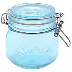 Frasco 0,5 litros vidrio Azul