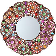 Espejo vitral redondo 57 cm