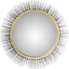 Espejo redondo cobre 81x7,5 cm