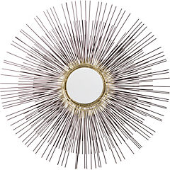 Espejo circular 81x8 cm cobre