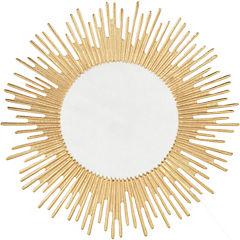 Espejo redondo Estrella cobre 61 cm