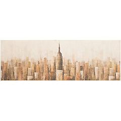 Cuadro City 63x183 cm