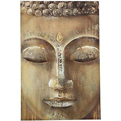 Canvas con foil 60x90 cm Buda cara