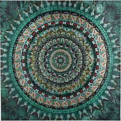 Canvas con aplicaciones 90x90 cm abstracto 2