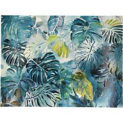 Canvas decorativo Hojas tropicales 120x90 cm