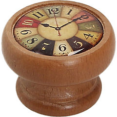Perilla 40 mm madera miel reloj colores