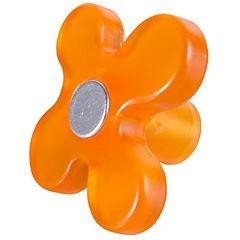 Perilla flor abs naranja cromo mate