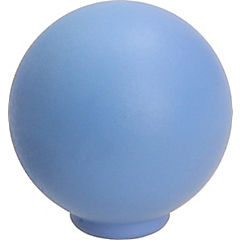 Perilla abs 29 mm azul mate