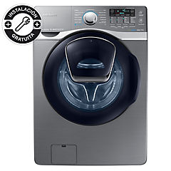 Lavadora secadora frontal 18 kg 10 kg inox