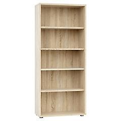 Librero Bocca ancho 4 repisas ak 80x35x151 cm