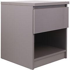 Velador 1 cajón 50x40x40 cm