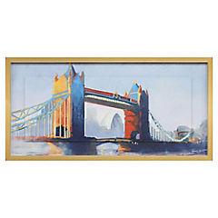 Cuadro London bridge 50x100 cm