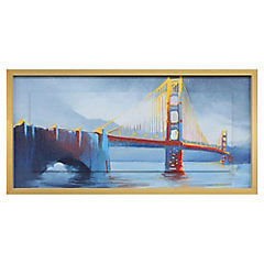 Cuadro San Francisco bridge 50x100 cm