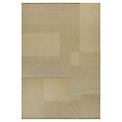 Alfombra Génova beige 220x320 cm