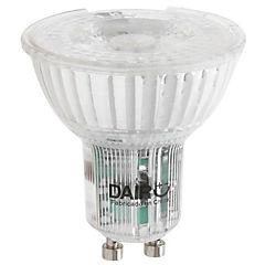 Ampolleta LED vidrio GU10 4W luz calida
