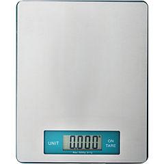 Balanza digital 5 kg plato de acero