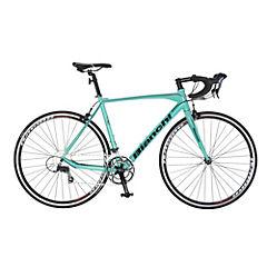 Bicicleta urbana aro 700C celeste