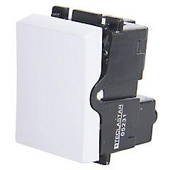 Módulo interruptor 10 A Blanco