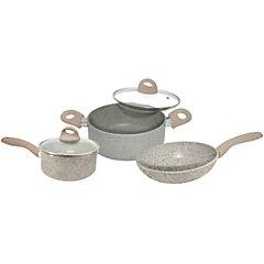 Batería de cocina 5 piezas Piedra