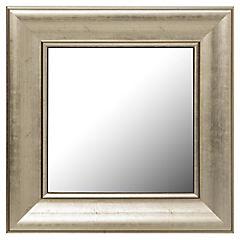 Espejo cuadrado 40x40 cm dorado Clásico