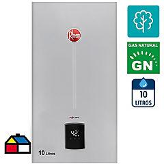 Calefón tiro natural 10 litros gas natural