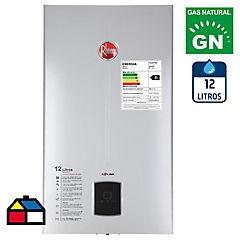 Calefón tiro natural 12 litros gas natural