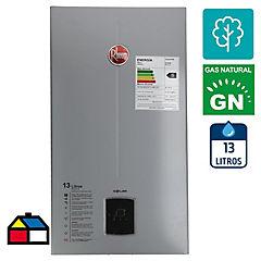 Calefón tiro natural 13 litros gas natural