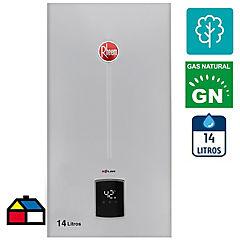 Calefón tiro natural 14 litros gas natural