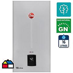 Calefón a gas natural 16 l tiro natural