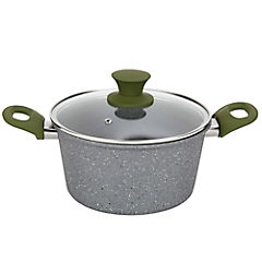 Olla aluminio antiadherente 20 cm 2,42 litros Granito