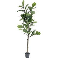 Ficus lyrata artificial 162 cm con macetero
