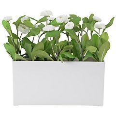 Crisantemo artificial 29 cm blanco