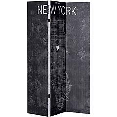 Separador de ambientes New York 180x120 cm negro