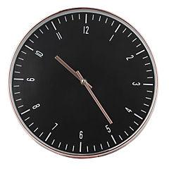 Reloj mural 30 cm dorado