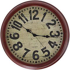 Reloj mural 35 cm gris