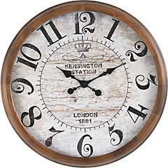 Reloj redondo madera 80 cm kensing
