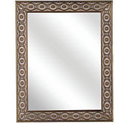 Espejo rectangular 101x81 cm cobre