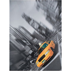 Canvas decorativo Time Square 80x60 cm
