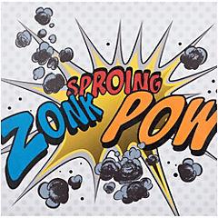 Canvas decorativo Zonk Pow 40x40 cm