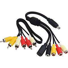 Kit cables para GoPro negro